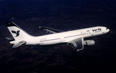 Uno dei primi aerei dell'Iran Air